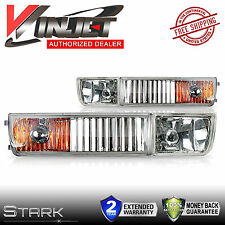 93-98 VW Golf / Jetta OEM Fog Light Clear Front Driving Lamps - PAIR