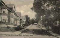 Roslindale MA Fairview St. Homes c1910 Postcard