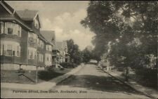 Roslindale MA Fairview St. Homes c1910 Postcard