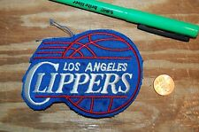 """Los Angeles Clippers 1984-2010 Primary Logo 4"""" Patch Basketball"""