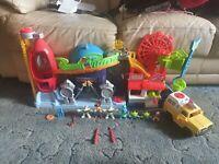 Imaginext Toy Story Playset Plus Figures And Vehicle Bundle