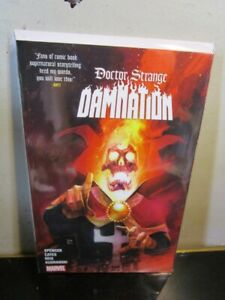 Doctor Strange Damnation Marvel TPB Ghost Rider BAGGED BOARDED~