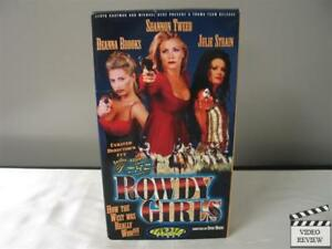The Rowdy Girls (VHS/EP, 2001, Unrated Version) Shannon Tweed Julie Strain
