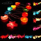 GaiaShine Star & Moon Paper Lanterns Night String Lights Fairy, Kid's Room US