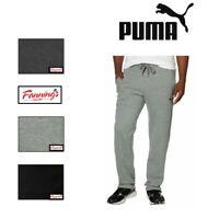 SALE! Puma Men's Plush Fleece Sweatpants Drawstring Pant SIZE/COLOR VARIETY D11
