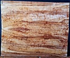 Spalted Curly Maple Wood 11102 Luthier 5A BASS Guitar Top set 26x 21x .625