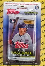 2020 Topps UNOPENED Meijer Blister Pack with 2 PURPLE PARALLELS! New / Sealed ⚾️