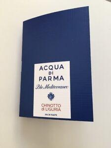 New Acqua di Parma Blu Mediterraneo Chinotto di Liguria EDT sample