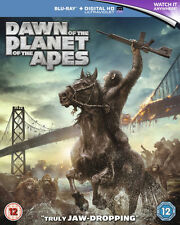 Dawn of the Planet of the Apes [Blu-ray] DVD, Kebbell, Toby, Clarke, Jason, Serk
