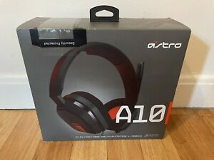 Astro A10 Grey And Red Headset