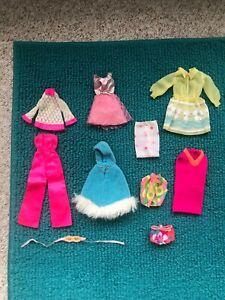 Vintage Barbie Francie  MOD CLOTHES LOT **TLC**