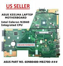 X551Ma Main Board/Motherboard for Asus Laptop, Rev 2.0 Intel N2840 Cpu, Us Loc A