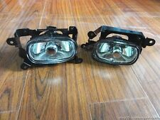 New 1Pair Left & Right Front Fog Lights Lamp For Mitsubishi Outlander 2003-2006