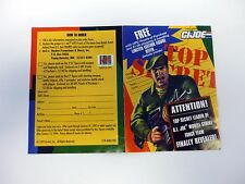 GI JOE JOE COLTON ORDER FORM Free Limited Edition Figure Offer TOP SECRET 1993