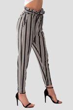 Pantaloni da donna affusolati poliestere taglia 42
