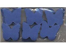 Confettis papillons bleu marine en papier de soie 50 grammes decoration table