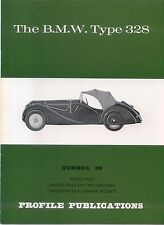 BMW Type 328 Profile Publication Number 89 12 page colour booklet