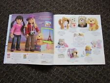American Girl Catalog 2009 Rebecca Julie Chrissa Bitty Baby Molly Felicity Pets