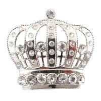 Crown Belt Buckle Rhinestone Crystal Mens Womens Girls Ladies Boys Gifts