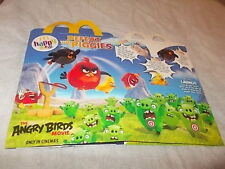 REGNO Unito MCDONALDS Happy Meal SCATOLA VUOTA Angry Birds MOVIE 2016 (USATI)