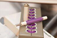 PELIKAN SOUVERAN 600 Violet-White Fountain pen-estilográfica