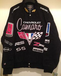 CHEVROLET Black Jacket - GM by RR Designs - Chevrolet logos
