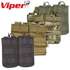 Viper Tactical Quick Release Double Mag Pouch Magazine M16 M4 AK Airsoft