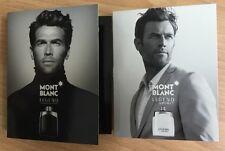 Mont Blanc Legend & Legend Spirit For Men 2 Pcs Vials 2 x 0.04 / 1.2 ml EDT Spr