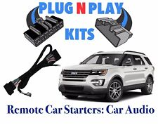 2016-2019 FORD EXPLORER NO HORN HONK W/ PARK-LIGHT PLUG REMOTE START PLUG & PLAY