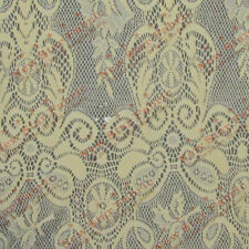 Lace Guipure 514 Fabric 56 inches width sold by the yard Champagne
