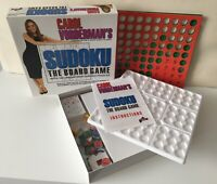 Carol Vorderman's Sudoku Board Game Math Puzzle Solving Numbers Games. Complete.