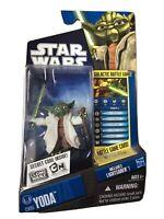 HASBRO 2010 Star Wars The Clone Wars Yoda CW05 Action Figure SEALED