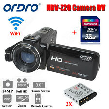 1080P HDV-Z20 Portable Camera Camcorder Digital Video Recorder 32GB W/ 2xBattery