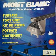 MONT BLANC 847 FOOT PACK - PEUGEOT PARTNER / CITROEN BERLINGO