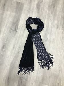 John Varvatos Collection Velvet Scarf. BNWT