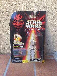 "Star Wars Episode 1 Battle Droid 3.75"" Hasbro Commtech"