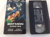 Batman Forever (VHS Movie, 2000) Jim Carrey Val Kilmer Tommy Lee Jones