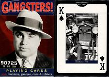 Gangsters! Playing Cards Poker Size Deck Piatnik Custom Limited Edition Sealed