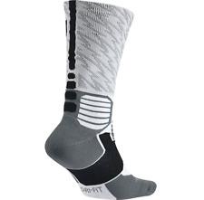 Nike KD Hyper Elite Basketball Crew Socks Style SX4972-100 M (6-8)