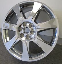 "20"" NEW ORIGINAL CADILLAC SRX 2012 CHROME CLAD WHEEL RIM 4666"