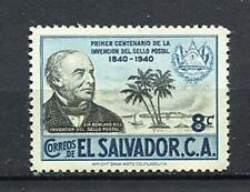 27306) EL SALVADOR 1955 MNH** Nuovi** Rowland Hill 1v