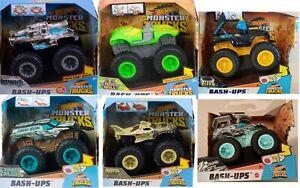 Hot Wheels Monster Trucks Bash-Ups Mix N Match 6 Different Cars