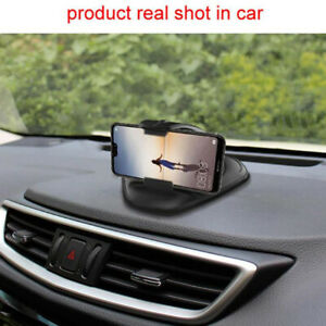 Universal Clip Car Phone Holder Mount Dashboard Console Auto Vehicle GPS Supp CW