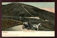 Italy NAPOLI Vesuvius Cable Railway 1903 u/b PPC