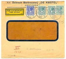 NEDERLAND 1929-11-13  FC  BIERBROUWERIJ  -DE AMSTEL-  VW PR EX RATE 162½ CT.