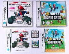 Spiele: MARIO KART + NEW SUPER MARIO BROS. / Nintendo DS + Lite + DSi + 3DS