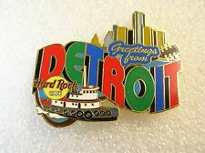 Hard Rock Cafe Pin DETROIT Greetings From Series