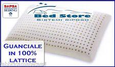 CUSCINO GUANCIALE IN LATTICE 100% H13cm SAPSA BEDDING (EX PIRELLI BEDDING)