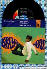 "BRENTON WOOD GERMAN  7 "" :  MOD SOUL  ♫  LOVEY  ♫  RAR"