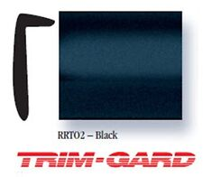 "15/32"" x 50' Roll L-Style Black Trim-Gard Stick On Door Edge Molding/Guard"